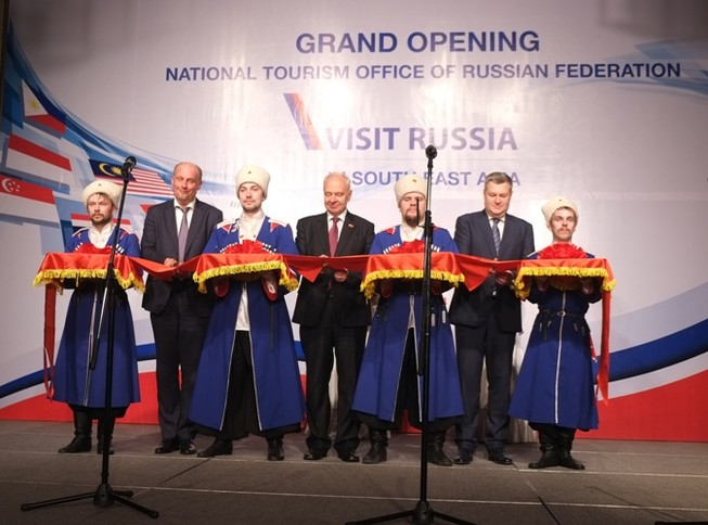 Nga mở văn phòng du lịch quốc gia Đông Nam Á tại Việt Nam