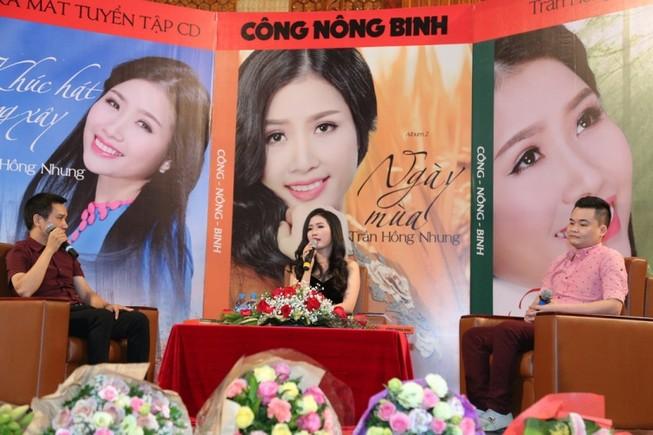 Ca sĩ Hồng Nhung ra mắt CD Công Nông Binh  