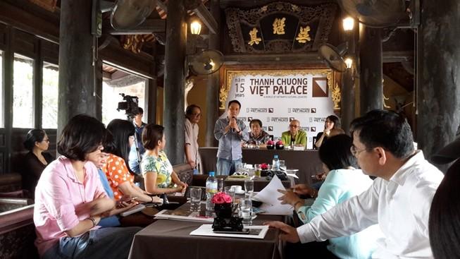 Họa sĩ Thành Chương trần tình về việc bán vé vào Việt phủ Thành Chương