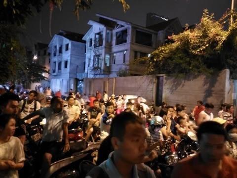 Tổng thống Obama đã về đến khách sạn ở Hà Nội