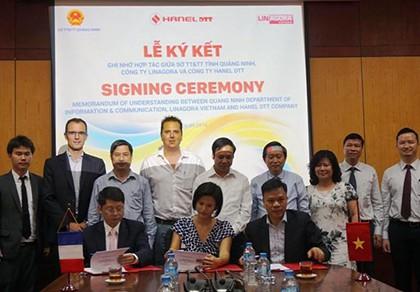 Công ty của Pháp giúp Quảng Ninh xây dựng chính quyền điện tử