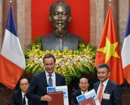 Việt Nam thỏa thuận, hợp đồng mua 40 máy bay Airbus với Pháp