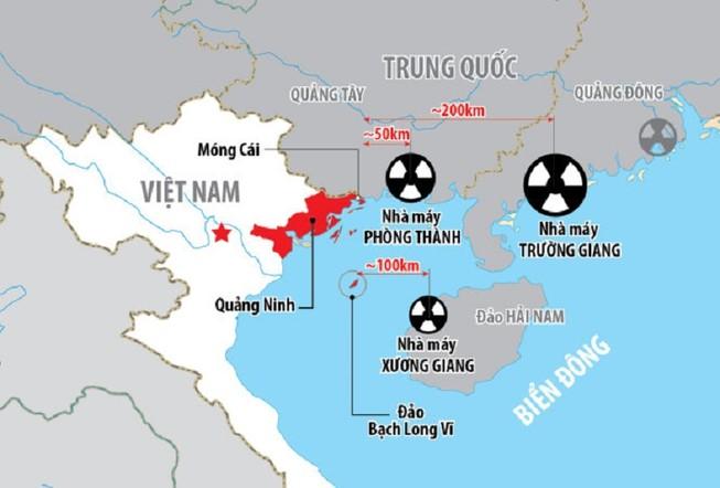 Việt Nam lên tiếng về nhà máy điện hạt nhân Trung Quốc