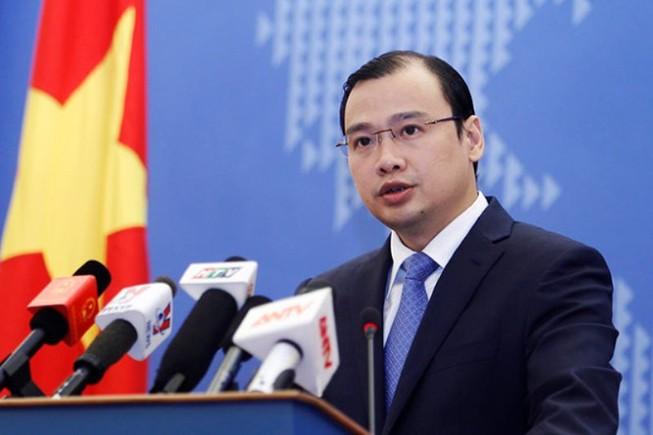 Việt Nam phản đối Đài Loan xâm phạm chủ quyền