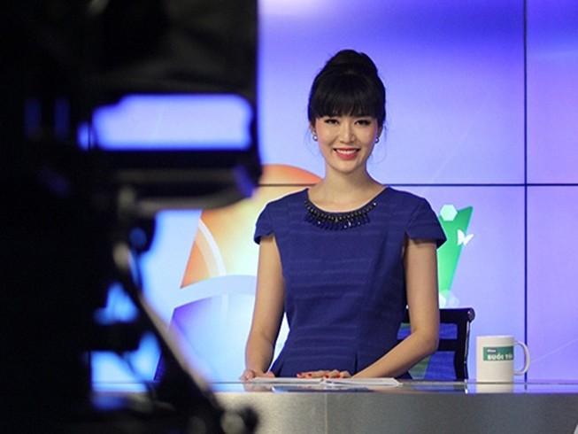 Hoa hậu Thu Thủy trở thành MC chương trình thời sự