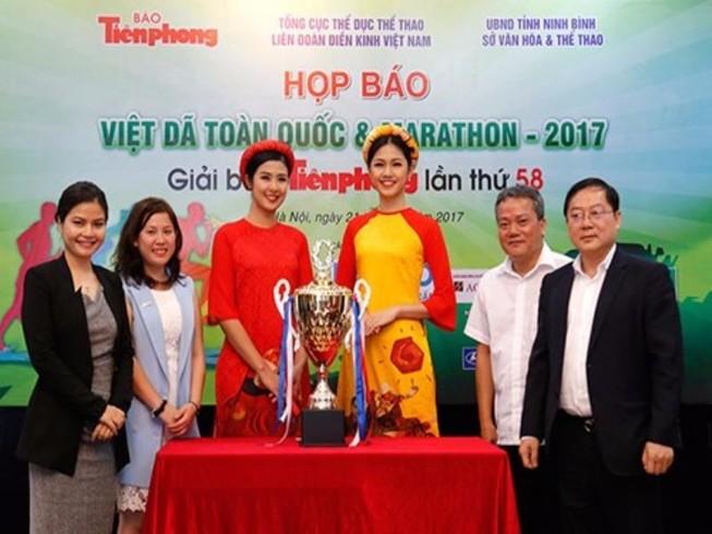 Hoa hậu Ngọc Hân tham gia Giải Việt dã và marathon