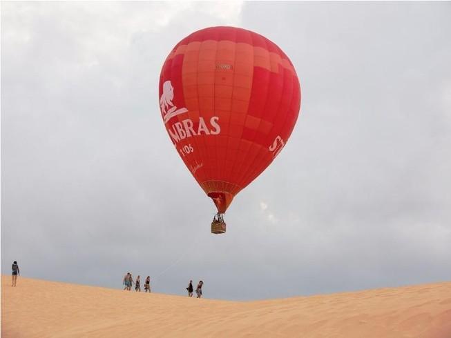 Ngắm Phan Thiết từ khinh khí cầu đầu tiên ở Việt Nam