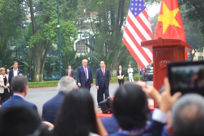 Toàn văn Tuyên bố chung Việt Nam và Hoa Kỳ