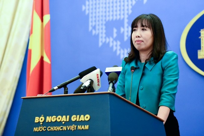 Bộ Ngoại giao nói về phiên xử Nguyễn Ngọc Như Quỳnh