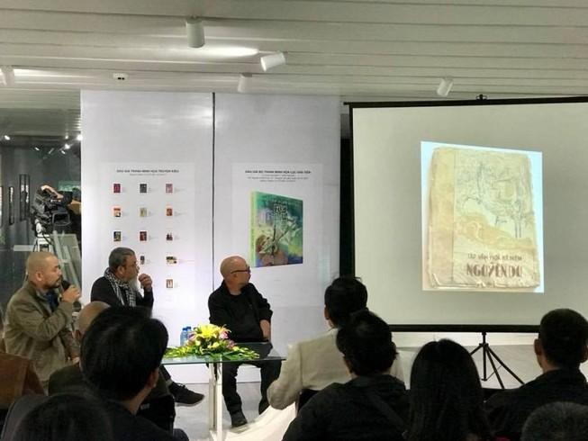 Đấu giá 18 tác phẩm minh họa Truyện Kiều - Lục Vân Tiên