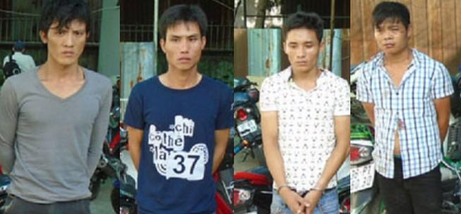 Bắt băng trộm xe máy có đồng bọn làm nhiệm vụ cản địa
