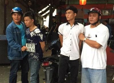 Bắt quả tang kẻ cướp xe dàn cảnh va quẹt với nạn nhân