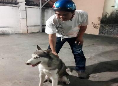 'Hiệp sĩ' bắt nghi can trộm chó cưng giá 20 triệu đồng