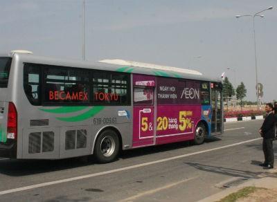 Khai trương năm tuyến xe buýt hiện đại công nghệ Nhật Bản