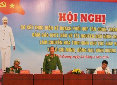 Thiếu tướng Nguyễn Phi Hùng: 'Tội phạm đang diễn biến hết sức nguy hiểm'