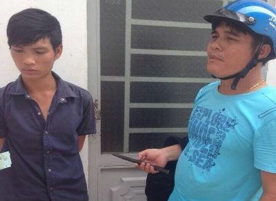 'Hiệp sĩ' Bình Dương bắt 'người quen' đang phá cửa trộm tài sản