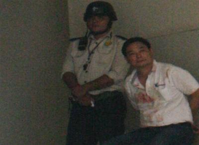 Nhân viên Trung Quốc chém ba người trong công ty ở Bình Dương