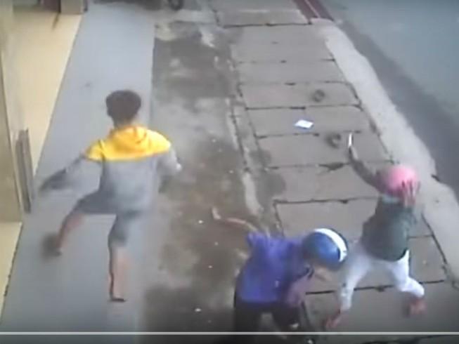 Xác định nhóm truy sát đối thủ kinh hoàng trên phố