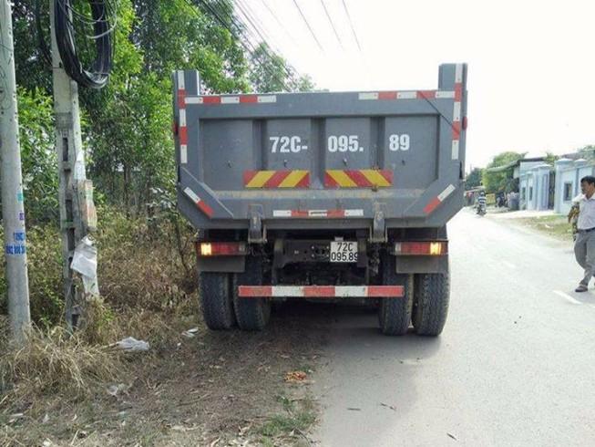 Đồng Nai: Hung thần xe ben cán chết người