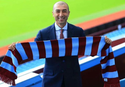 HLV Roberto Di Matteo chính thức nhận việc tại Aston Villa