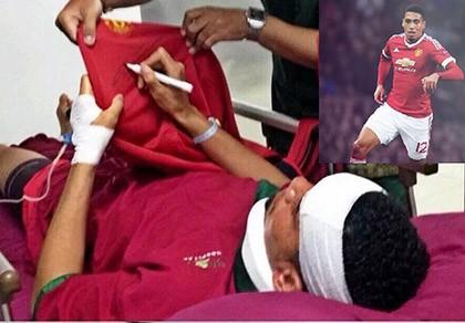 Sao MU nhập viện ở Bali vì bị… sứa cắn