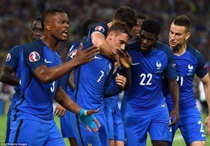 Griezmann lập kỷ lục ghi nhiều bàn thắng nhất lịch sử Euro