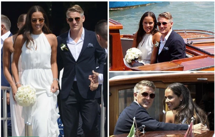 Lễ cưới giản dị và đẹp như mơ của Schweinsteiger và Ana Ivanovic