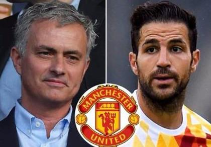 Jose Mourinho gây sốc khi muốn đưa Cesc Fabregas về MU