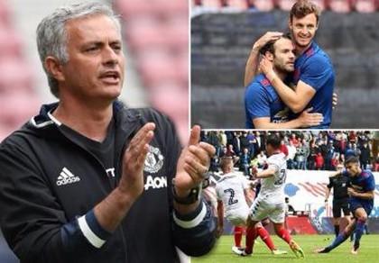 Jose Mourinho nói gì về lần đầu dẫn dắt M.U chiến thắng