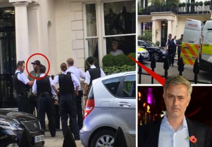 Jose Mourinho chết đứng khi nhìn thấy trộm 'viếng' nhà