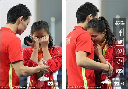 Giành HCB Olympic, người đẹp nhảy cầu được bạn trai cầu hôn
