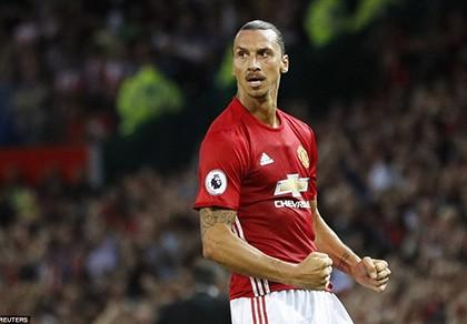Ibrahimovic liên tục ghi bàn, fan MU lên 'cơn sốt'