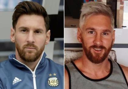 Messi bật mí lý do nhuộm tóc vàng hoe