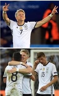 Schweinsteiger ghi bàn rồi cưới vợ