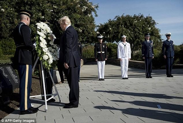 Ông Trump nói gì trong buổi tưởng niệm sự kiện 11-9 - ảnh 4
