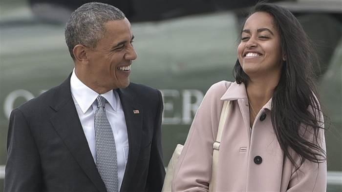 Ông Obama tiễn con gái cưng, khóc trước mặt mật vụ - ảnh 2