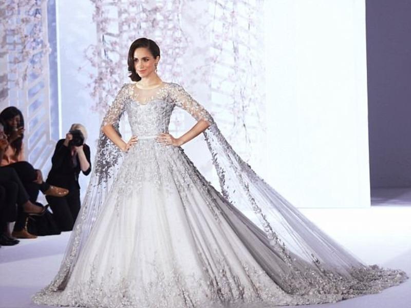 Váy cưới của vợ hoàng tử Anh có giá bao nhiêu? - ảnh 1