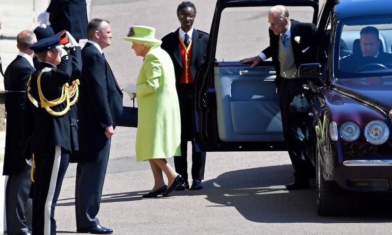 Những khoảnh khắc lộng lẫy trong đám cưới Hoàng gia Anh - ảnh 4