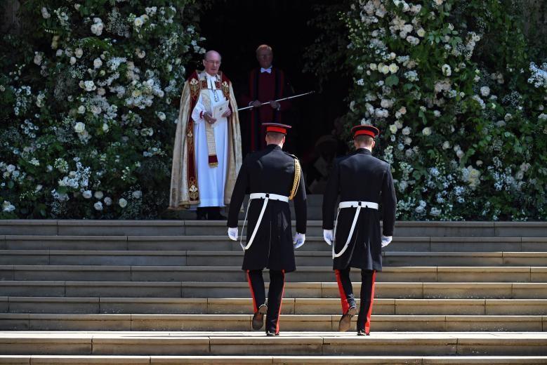 Những khoảnh khắc lộng lẫy trong đám cưới Hoàng gia Anh - ảnh 3