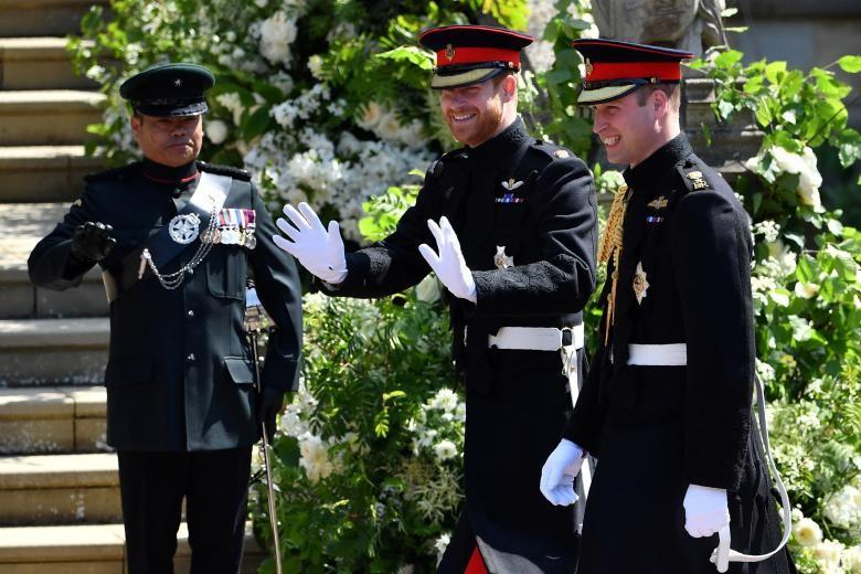 Những khoảnh khắc lộng lẫy trong đám cưới Hoàng gia Anh - ảnh 2