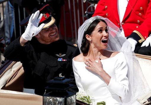 Những khoảnh khắc lộng lẫy trong đám cưới Hoàng gia Anh - ảnh 19