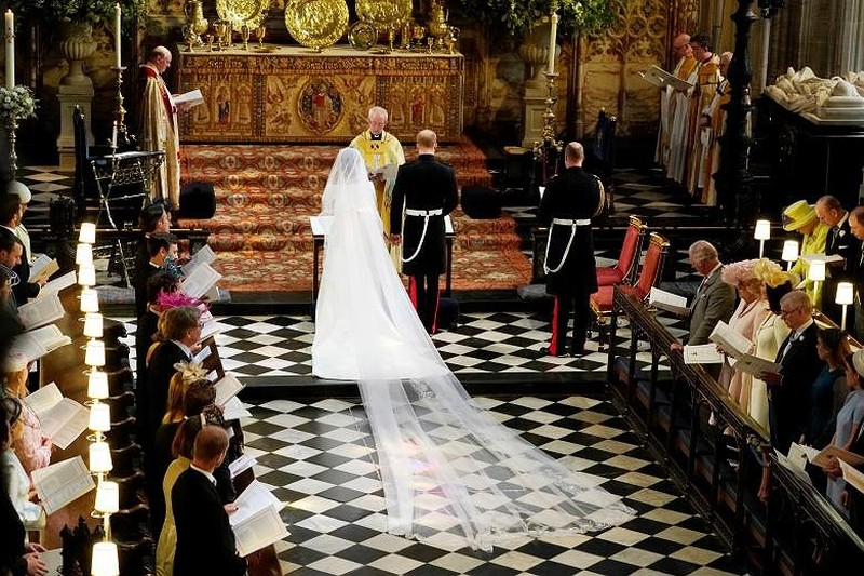 Những khoảnh khắc lộng lẫy trong đám cưới Hoàng gia Anh - ảnh 10