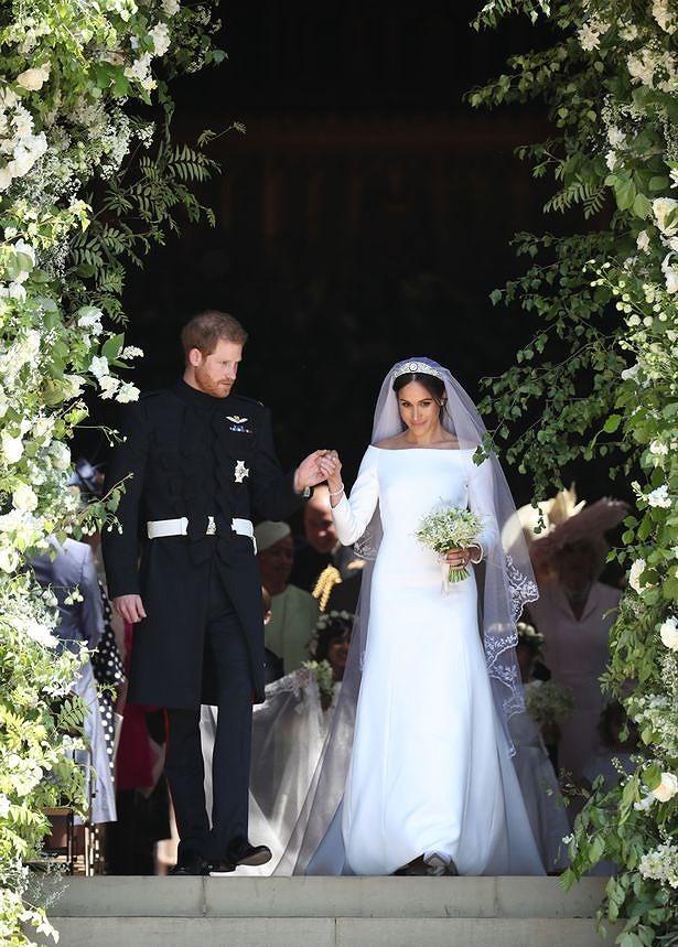 Những khoảnh khắc lộng lẫy trong đám cưới Hoàng gia Anh - ảnh 15