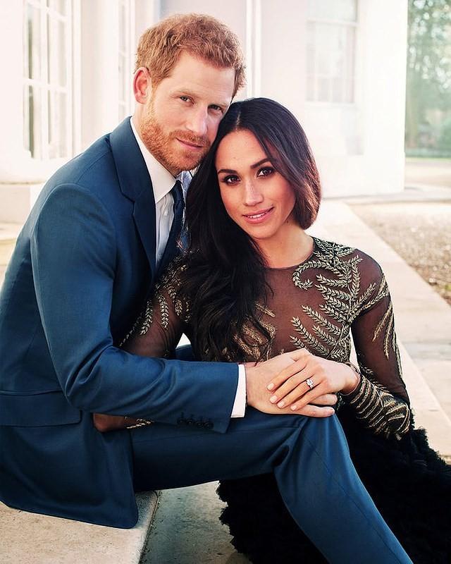 Hoàng gia Anh chính thức công bố ảnh cưới của hoàng tử Harry - ảnh 4
