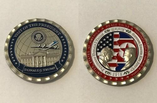 Thượng đỉnh Mỹ-Triều bị hủy, đồng xu kỷ niệm vẫn cháy hàng - ảnh 2