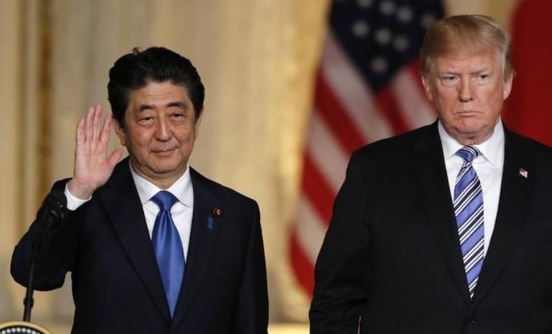 Ông Trump và Abe sẽ gặp nhau trước hội nghị Mỹ-Triều - ảnh 1