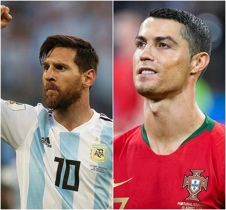 Vợ chồng ly dị vì... Ronaldo và Messi - ảnh 1