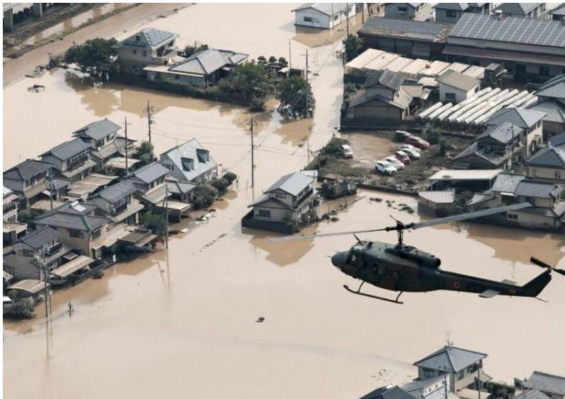 Mưa lũ lịch sử tại Nhật Bản: Gần 100 người thiệt mạng - ảnh 2
