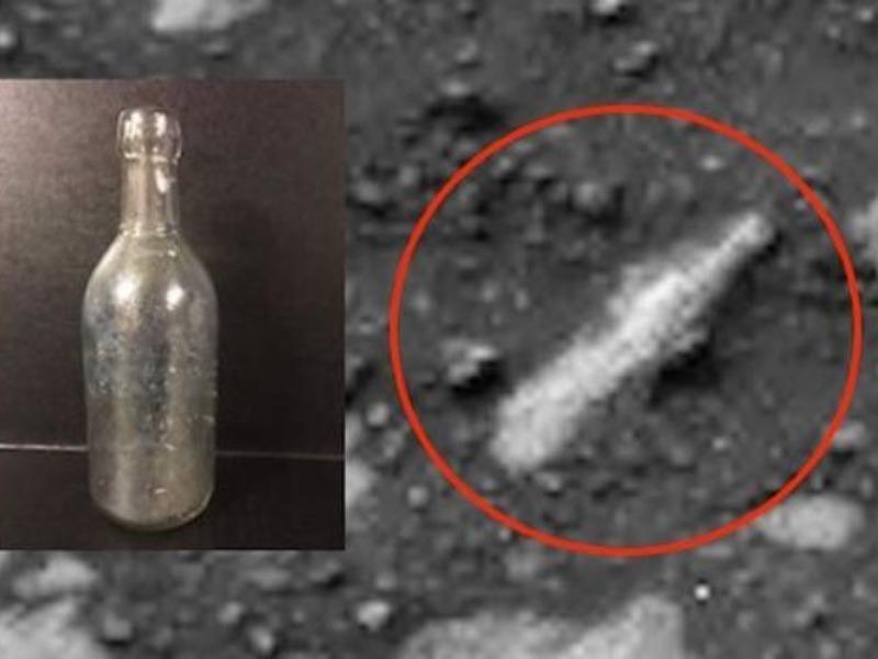 Phát hiện chai thủy tinh trên bề mặt sao Hỏa? - ảnh 1