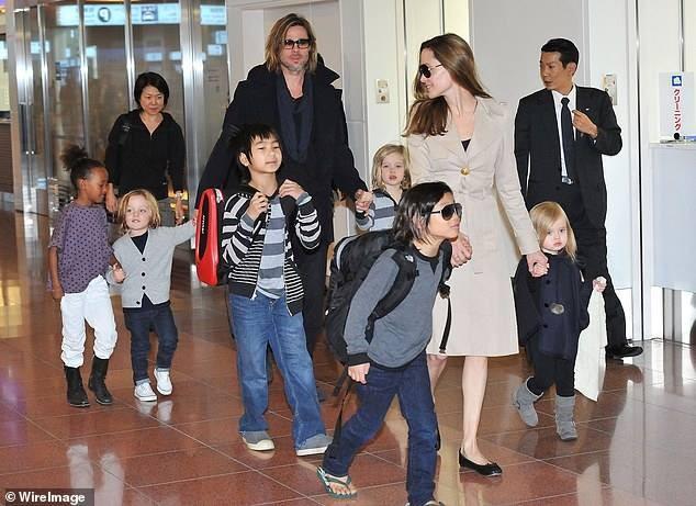 Brad Pitt, Angelina Jolie sắp ra tòa giành con - ảnh 2